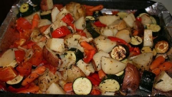 Запеченные овощи – как их готовить?