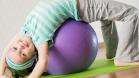 Упражнения с мячом для дошкольников