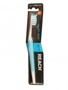 На  91% меньше зубного налета с новой щеткой Reach®!