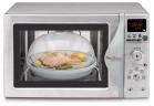 Два, сохраняющих витамины, кухонных помощника в одном!  Микроволновая печь с функцией пароварки Moulinex MW8690