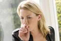 затяжной кашель